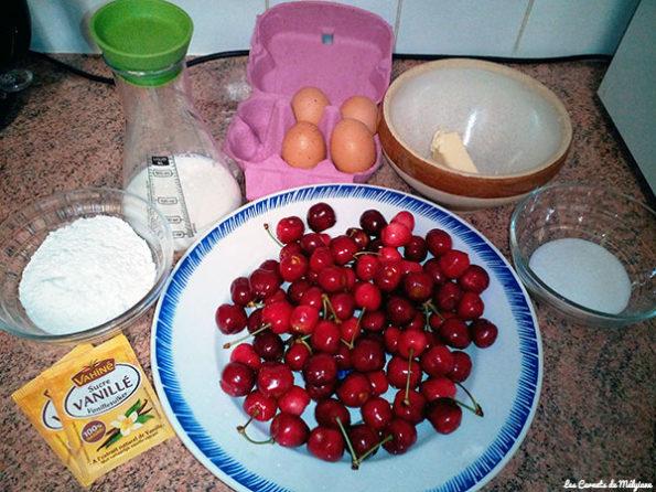 Clafoutis aux cerises ingredients