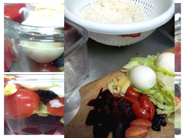 salade à la betterave