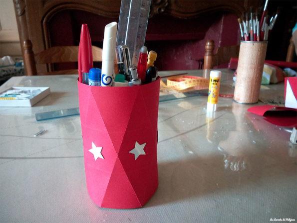 rangement à crayon