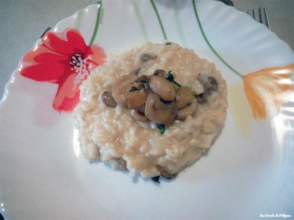 risotto aux chamoignons