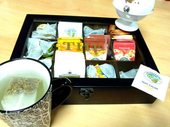 boîté à thé