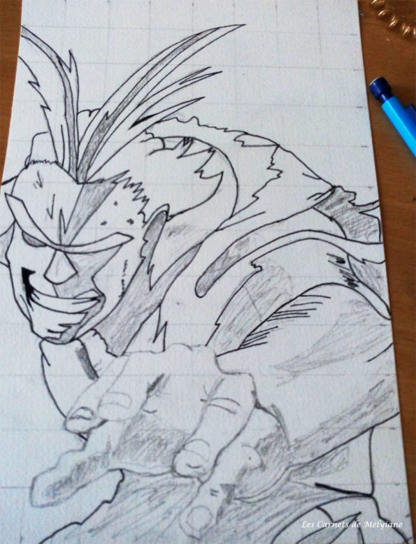 dessiner-all-might