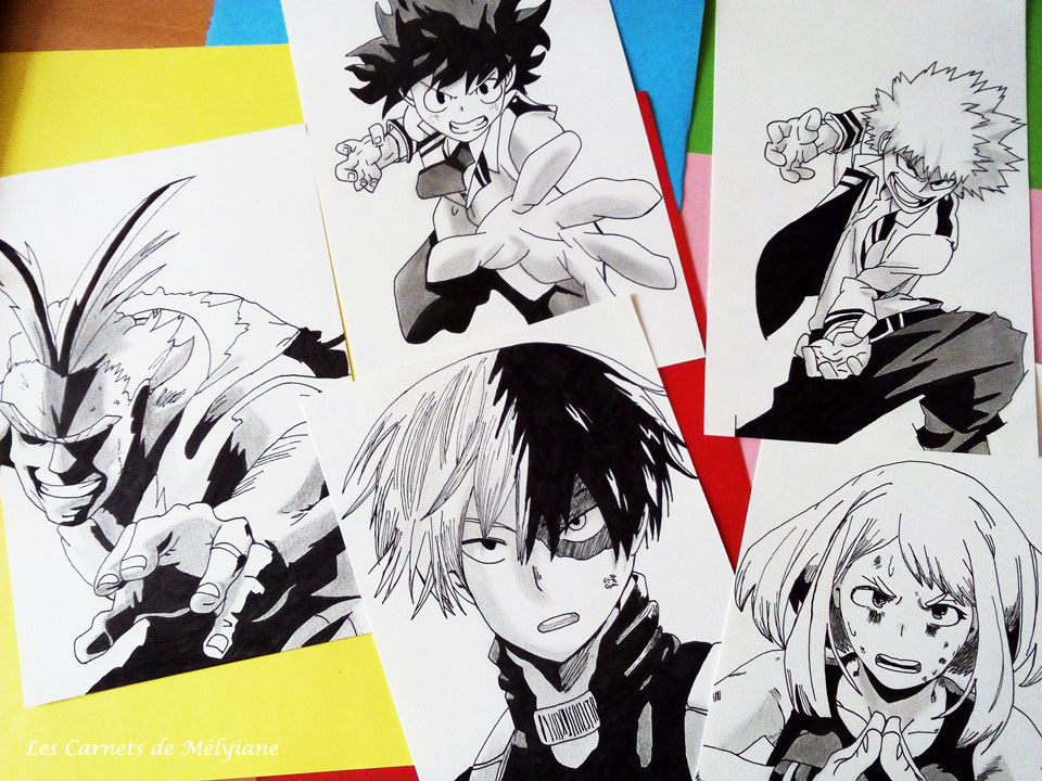 Dessiner des personnages de manga quand on est pas une pro les carnets de m lyiane - Dessin de tous ...