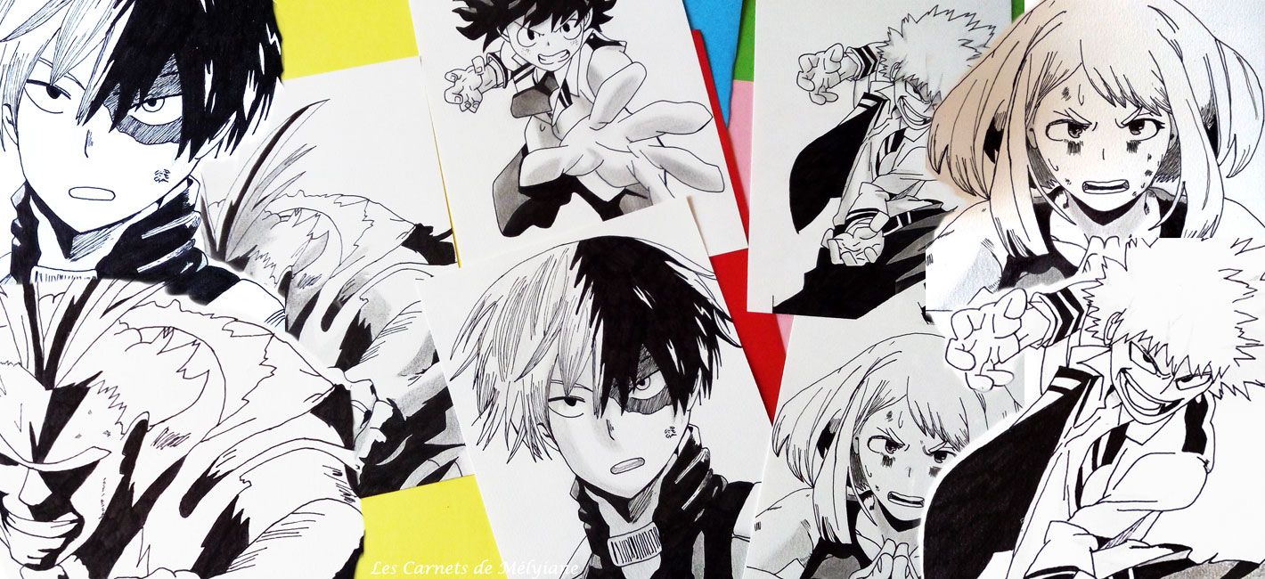 Dessiner Des Personnages De Manga Quand On Est Pas Une Pro